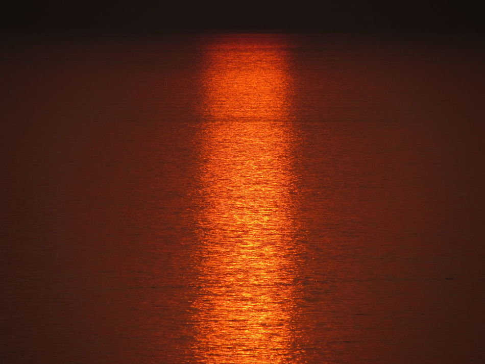 Calm Gemlik Mystery Phosphorescence Red Sea Seascape Shiny Wave