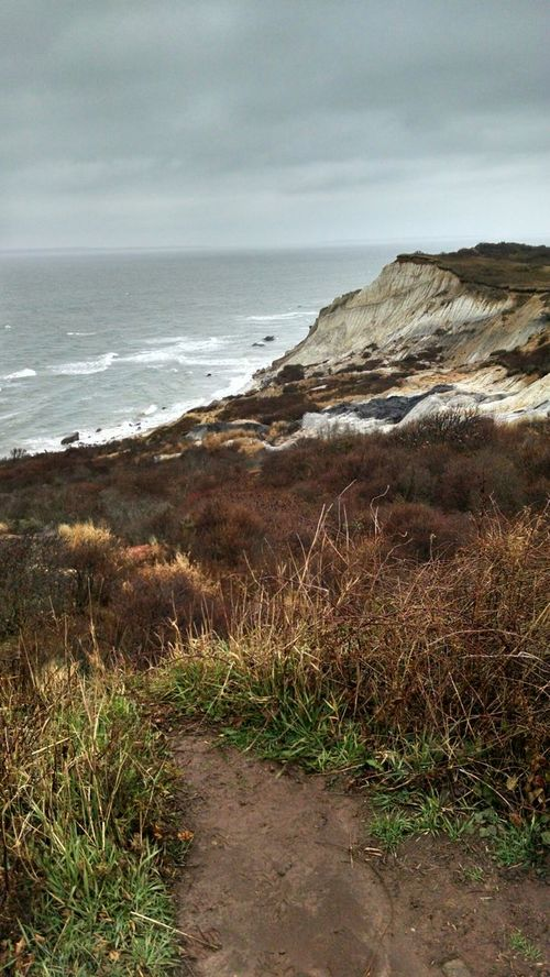 Stratification Marthas Vineyard New England  Massachusetts East Coast AndroidPhotography Nature Showcase: December Atlantic Ocean Clay Cliffs Aquinnah Stratigraphy Clay