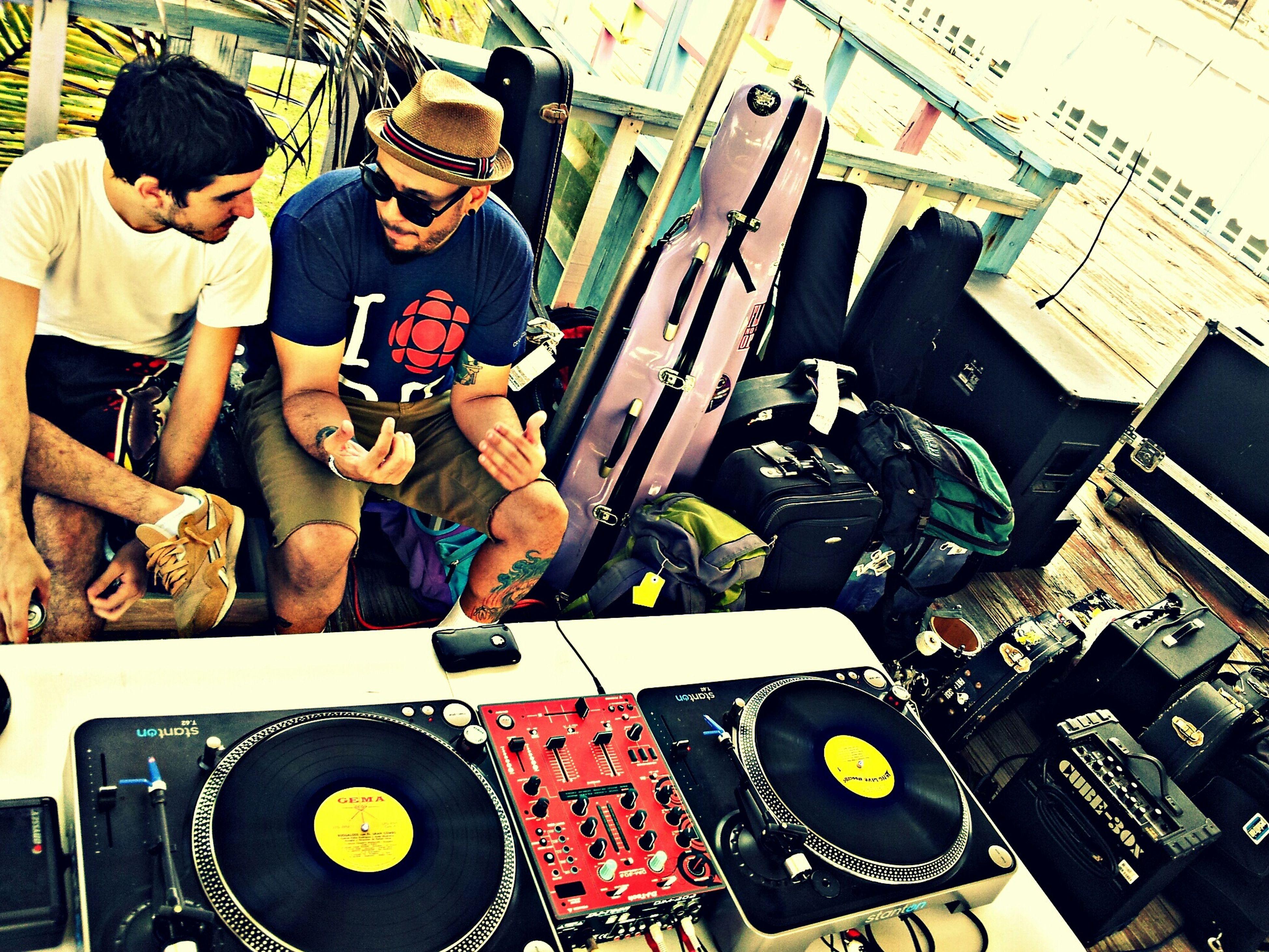 Javi y Chopz. Los Buenos Muchachos Friends People Faces Of EyeEm Puerto Rico Dub Ambassadors Boogaloo Pete Punk Rock Turntables