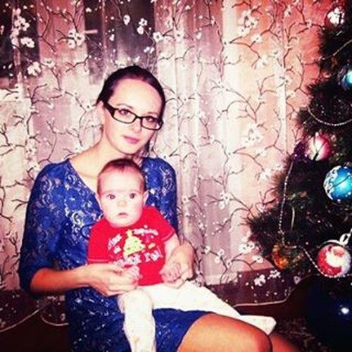 Первый Новый Год) моя_малышка новый_год поздравляем_всех
