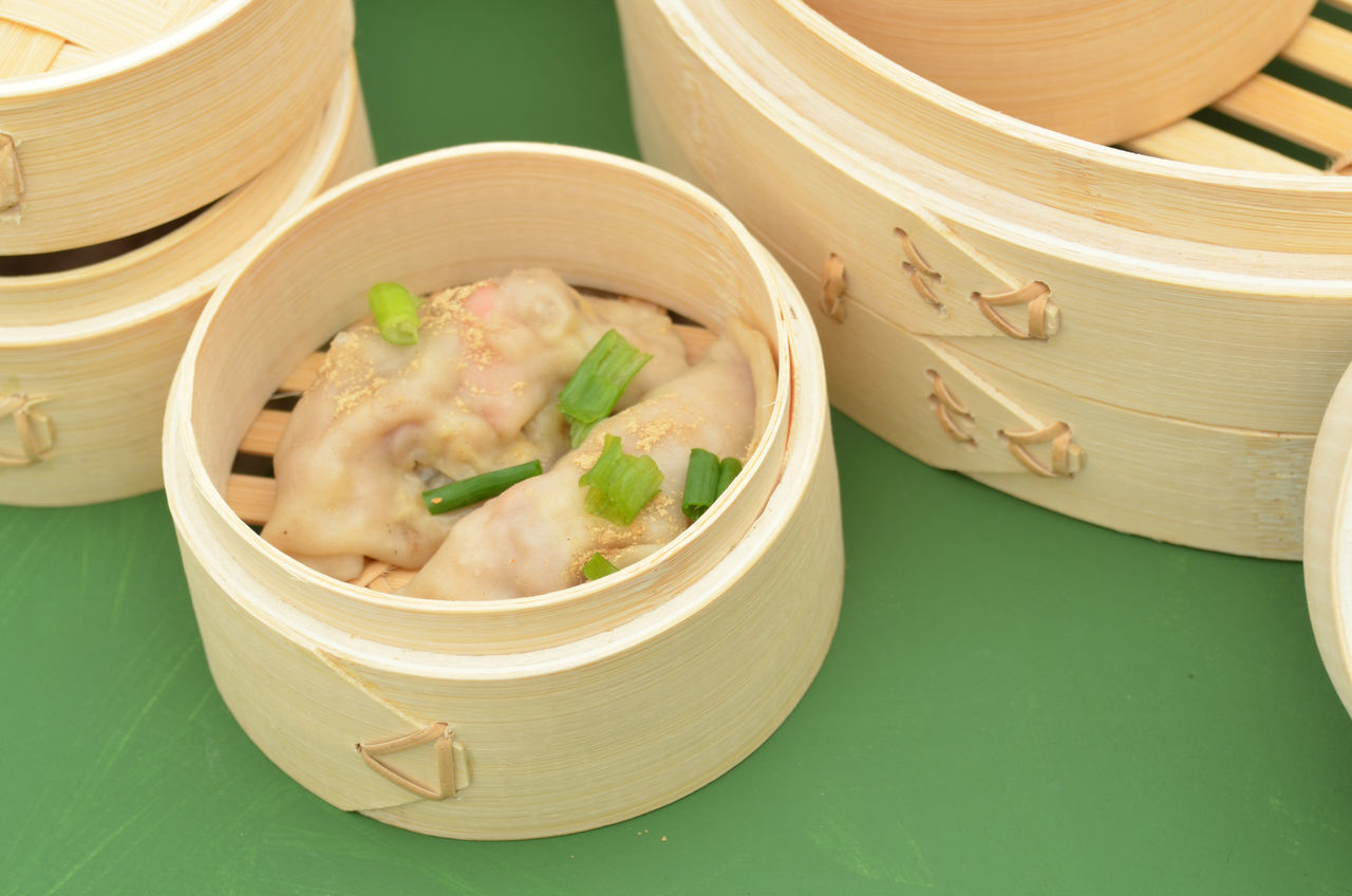 dim sum bamboo steamer Bamboo Steamer Chinese Culture Chinese Food Cooking Day Dim Sum Dim Sum Bamboo Steamer Dumplings Food Food Preparation Healthy Eating Lunch Time! Meal Preparation Ready-to-eat Steamer Steamer Basket