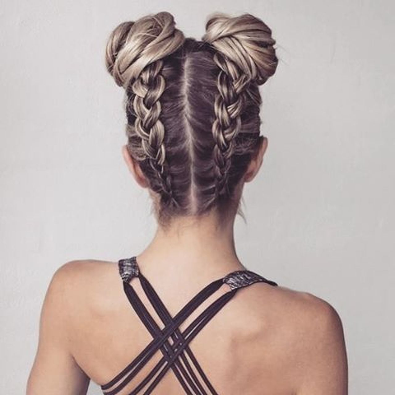 One Woman Only Hairstyle Human Hair Braided Hair Rear View One Person Adults Only Only Women Hair Care Beauty Females Fashion Blond Hair Hair Bun One Young Woman Only Studio Shot Adult Women Headshot People Business Finance And Industry First Eyeem Photo Long Hair Place Of Worship City