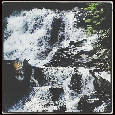 Waterfall Beautiful Taking Photos Relaxing