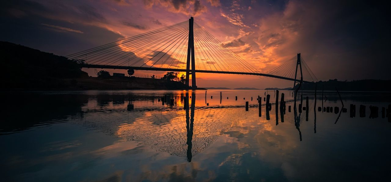 Barelang Bridge Sunrise Sunrise Hello World Batam Bridge INDONESIA Golden Hour