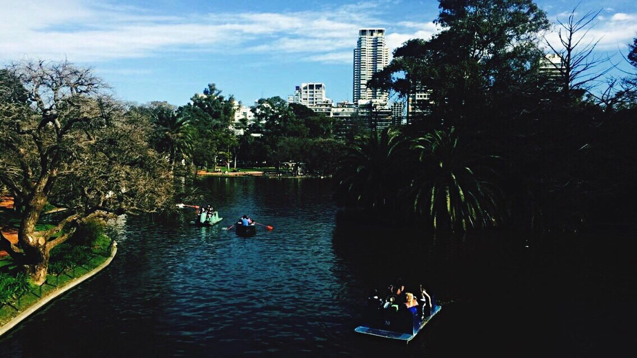 Palermo, Buenos Aires, Argentina Tree Water River Vacations Journey Sky Outdoors Day Travel Destinations Tourism
