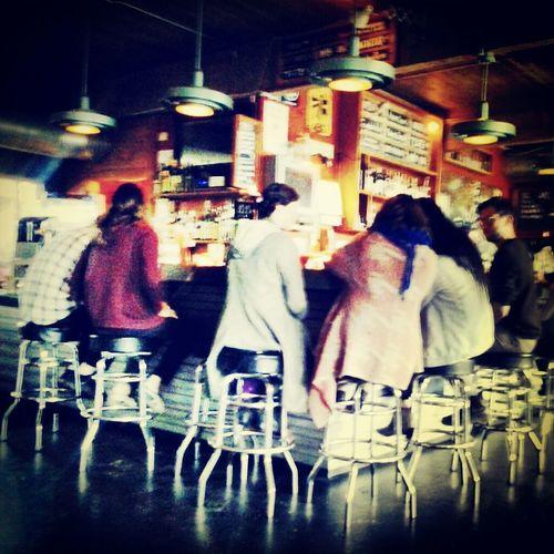 Pub Drinking Beer Friends Town Meeting