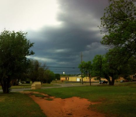 clouds in Sweetwater by Judy  Green
