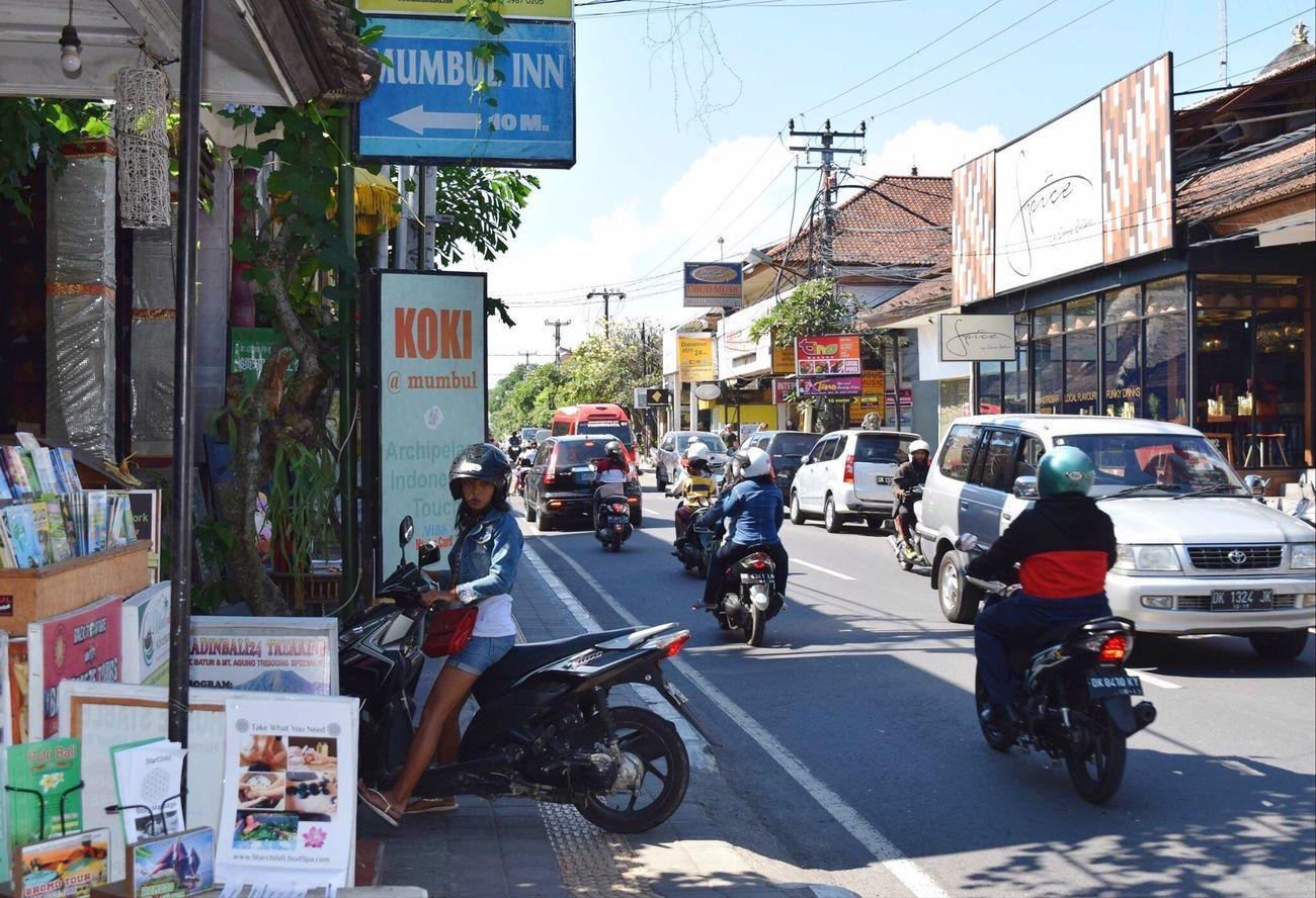 Bali Ubud Motorcycle City Life The Street Photographer - 2017 EyeEm Awards