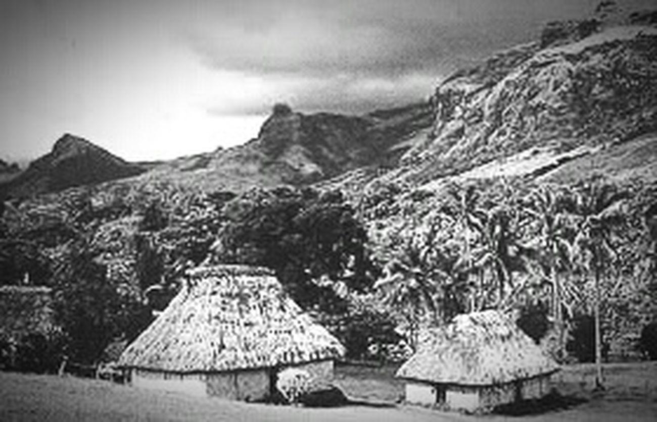 Fiji Tradtional Bure BULA Fiji Fiji's Mothernature