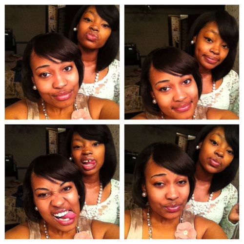 Me And Bestie Thuggin !!