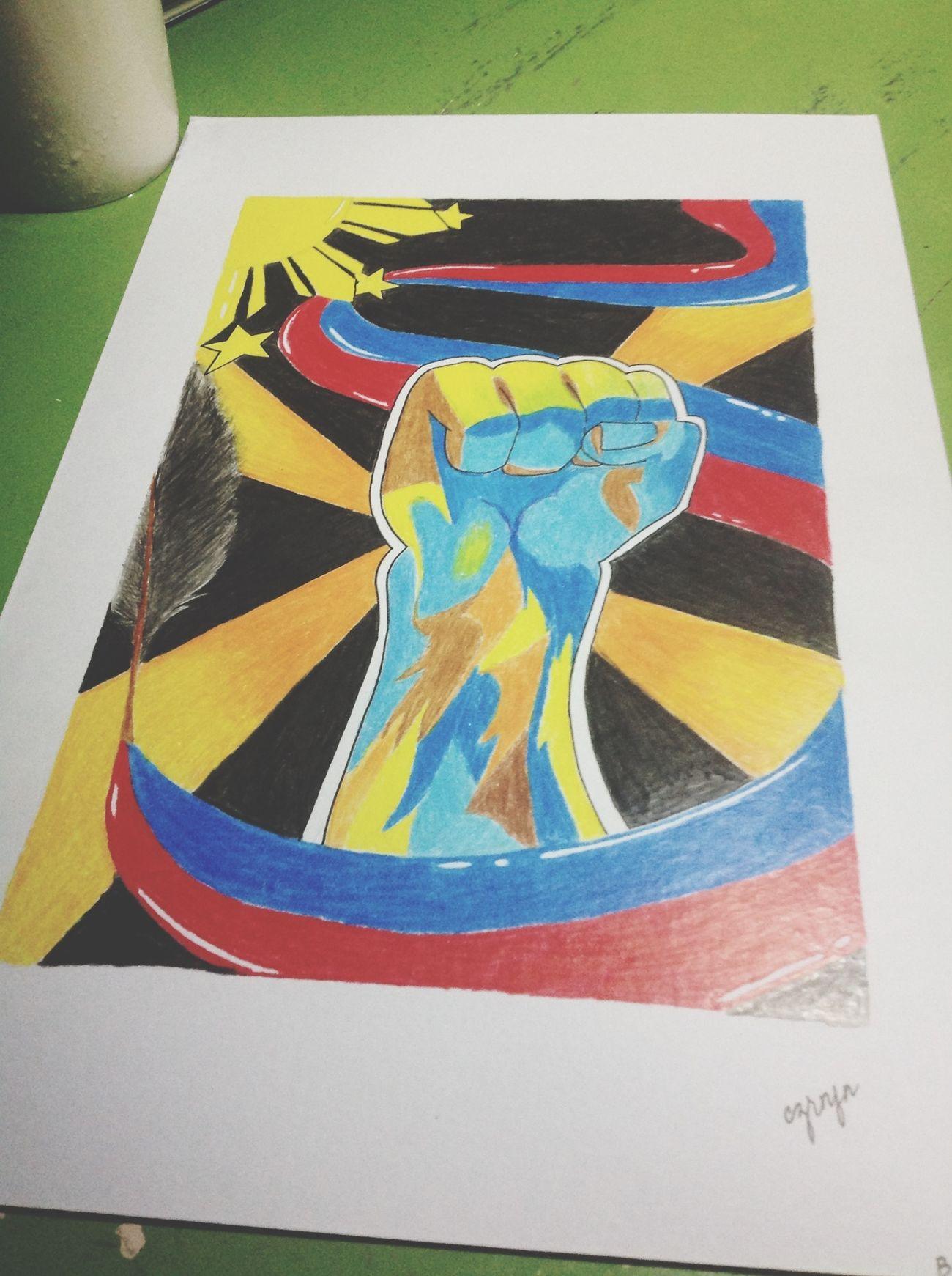 Laban Pinoy! ArtWorkFollowme