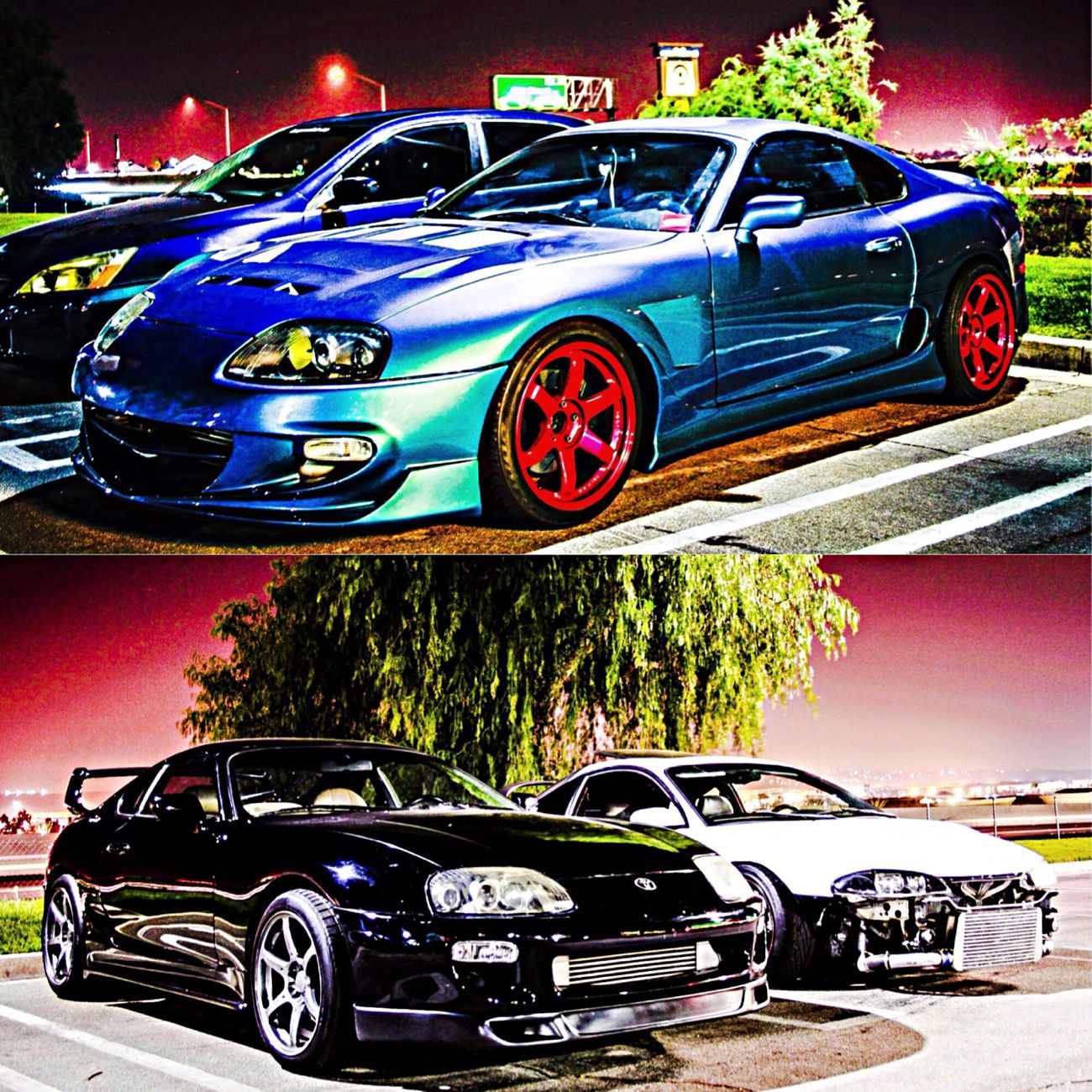 Saw some beast supras Stancenation Supranation Toyota Supra