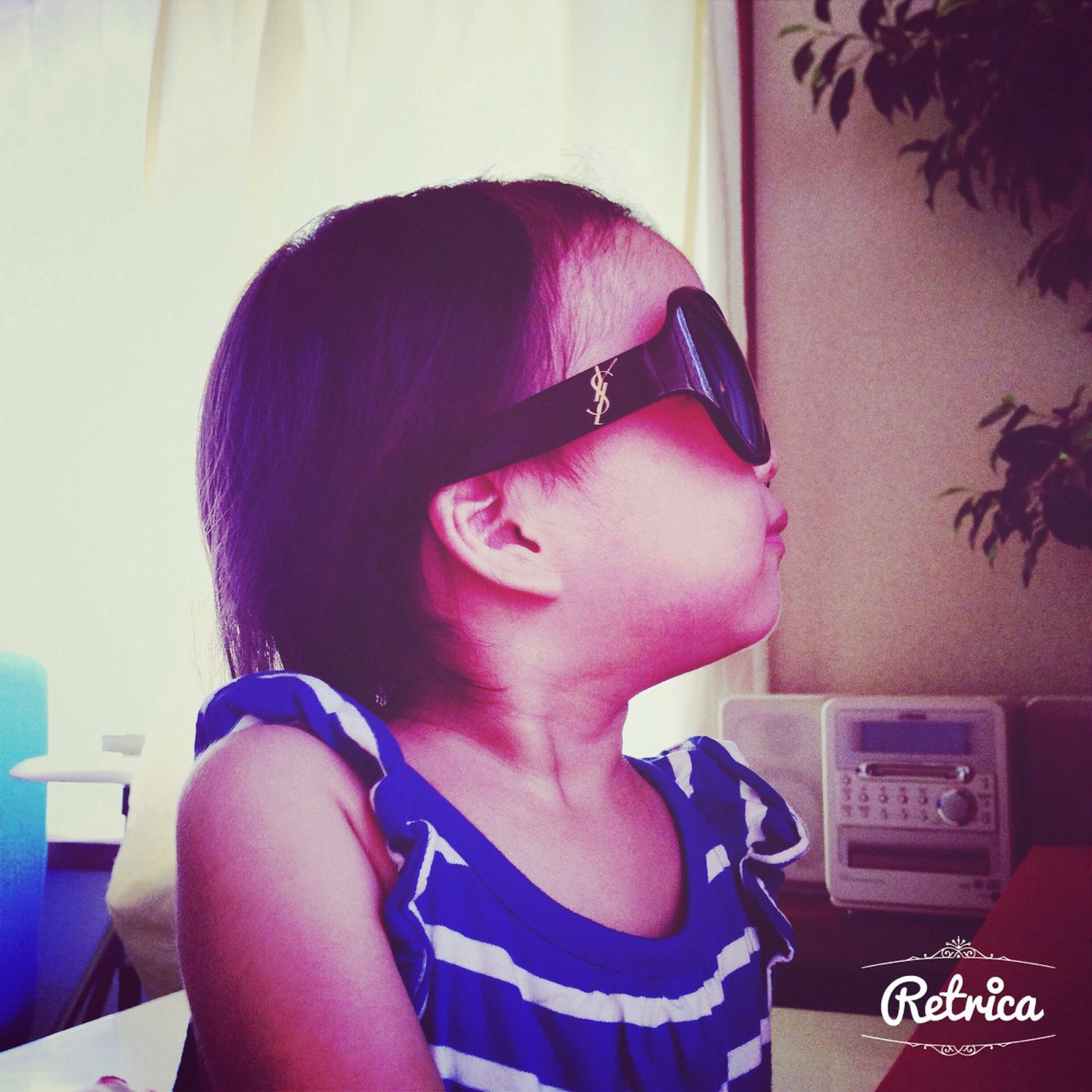 My Baby Little Lady  Sunglasses Taking Photos