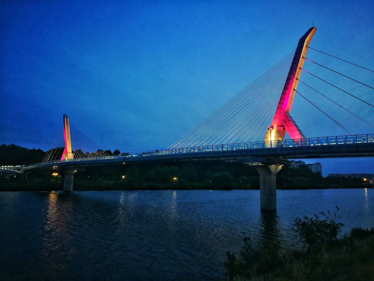 동촌 유원지 River Bridge - Man Made Structure
