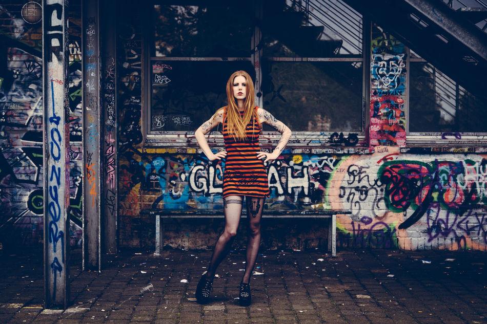 Beautiful stock photos of fashion, 25-29 Years, Abandoned, Architecture, Beautiful Woman