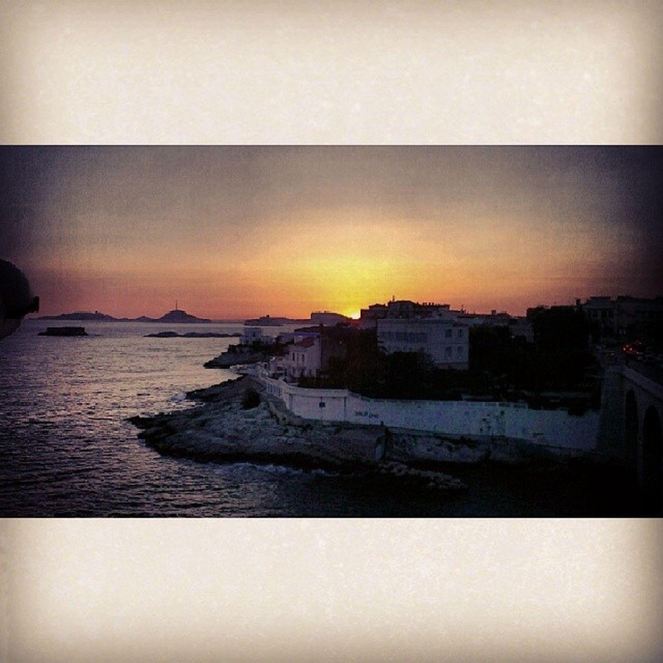 Marseille Coucher  de soleil