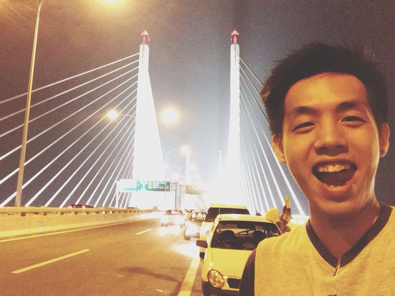 First day opening of Penang Secondbridge Awesome POTD