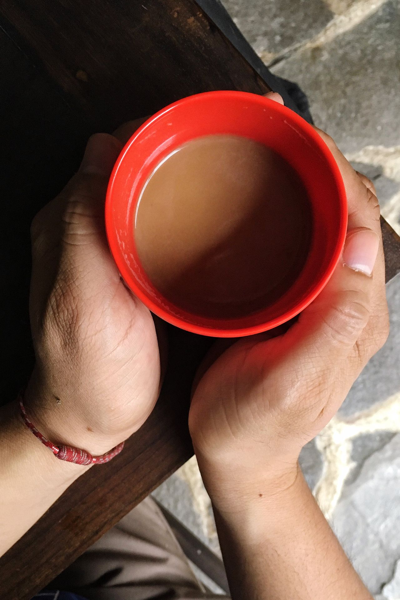 Human Body Part Holding Human Hand One Person Coffee Cup Coffee - Drink High Angle View Refreshment