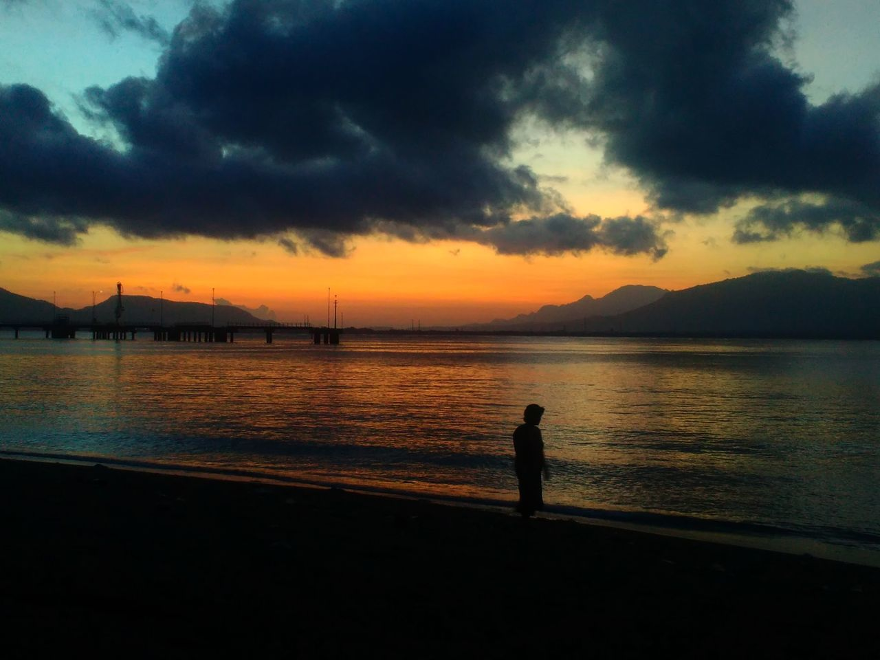 Sunrise of java. See you next time banyuwangi Wonderfulindonesia Morning Photo Photography Beach Sunrise Beautiful Majestic Banyuwangi