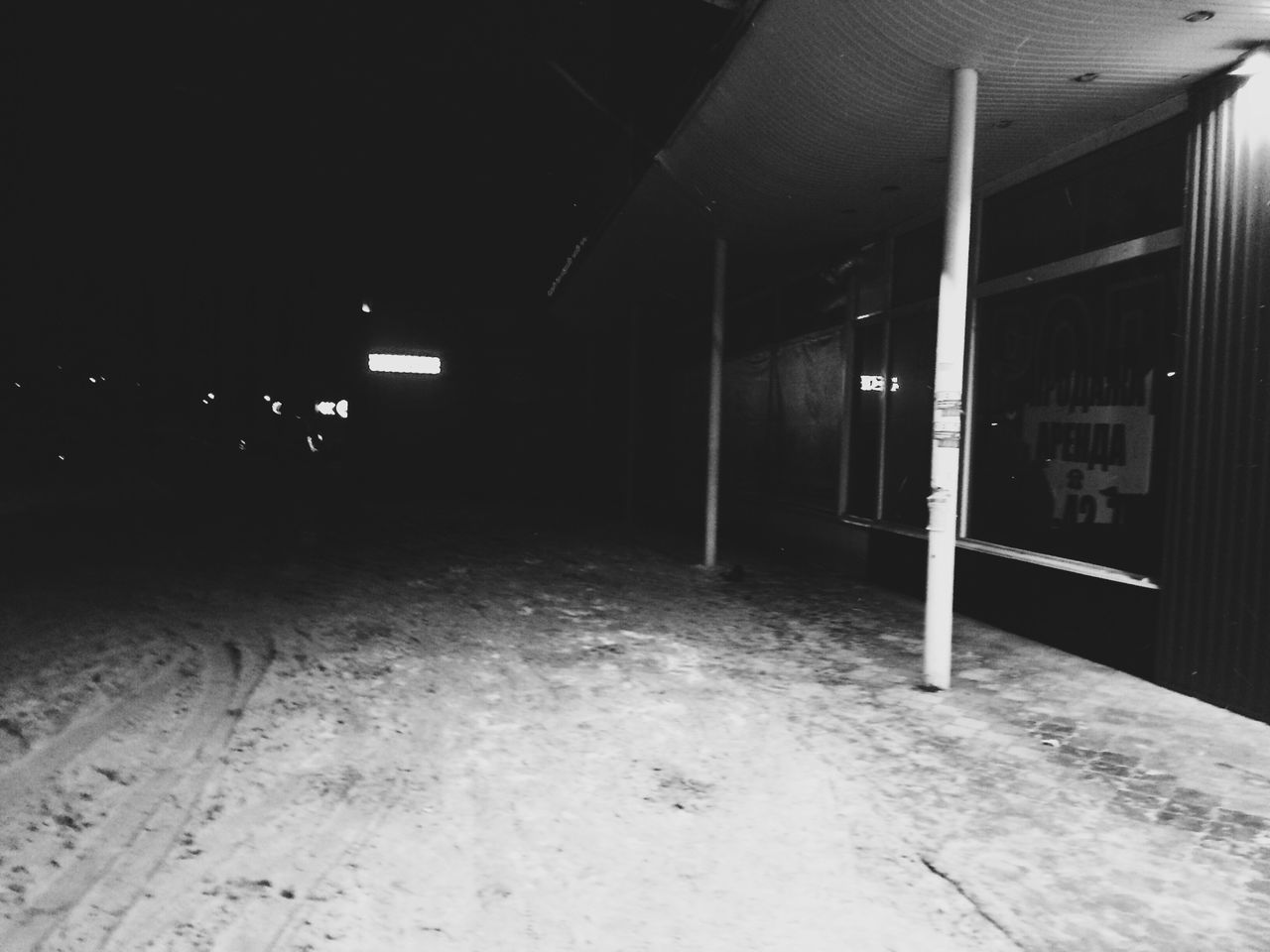 illuminated, empty, night, no people, indoors, built structure, architecture