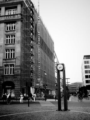 blackandwhite in Frankfurt am Main by prickel
