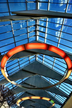 Adapted To The City Architecture Built Structure Shopping Mall Architectural Detail Buildings Shootermag Slotsarkaderne Denmark Hillerød Lookingup Modern Architecture Architecture_collection Pattern, Texture, Shape And Form Building City Architecture Building Exterior Architecturelovers Mall Light And Shadow Low Angle View Blue Sky Colors The City Light Art Is Everywhere The Secret Spaces The Architect - 2017 EyeEm Awards The Graphic City