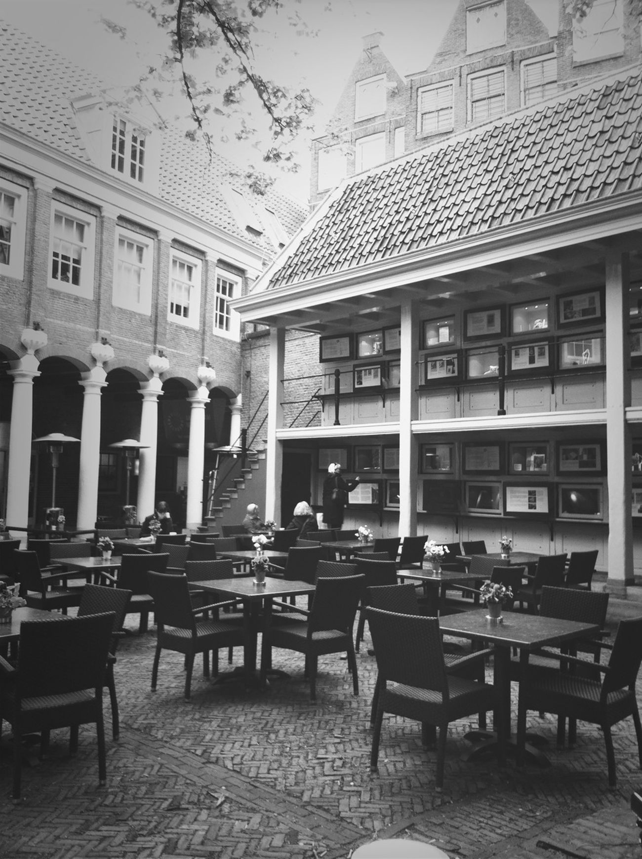 Architecture Blackandwhite Bnw_collection AMPt - Cafe Culture