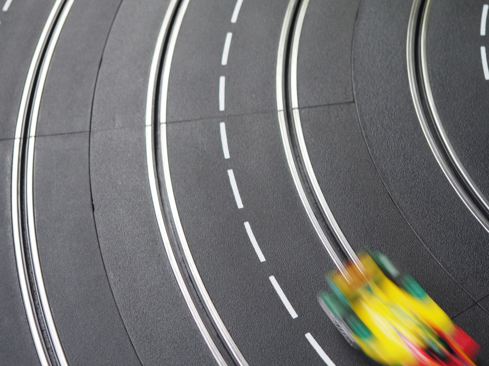 Cars Childhood Close-up Electric Cars F1 Fast Faster Formula E Fun Game Low Angle View Motion No People Racing Racing Car Railing Retro Future Speed