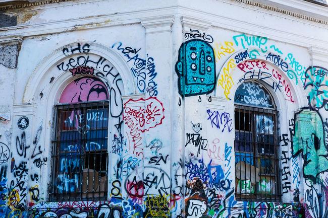 Architecture Art Arte Building Exterior Close-up Day Graffiti Murales