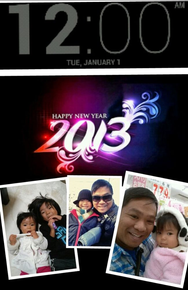 Happy New Year from our family to yours. #japan4theholidays #newyears #newyearsday #newyear #2013 #newyearseve #newyears2013 #bye2012 #hello2013 #2012 #donewith2012 #TFLers #newyearsresolution #goals #dec31 #jan1 #dec312012 #jan12013 #instagood #celebrati