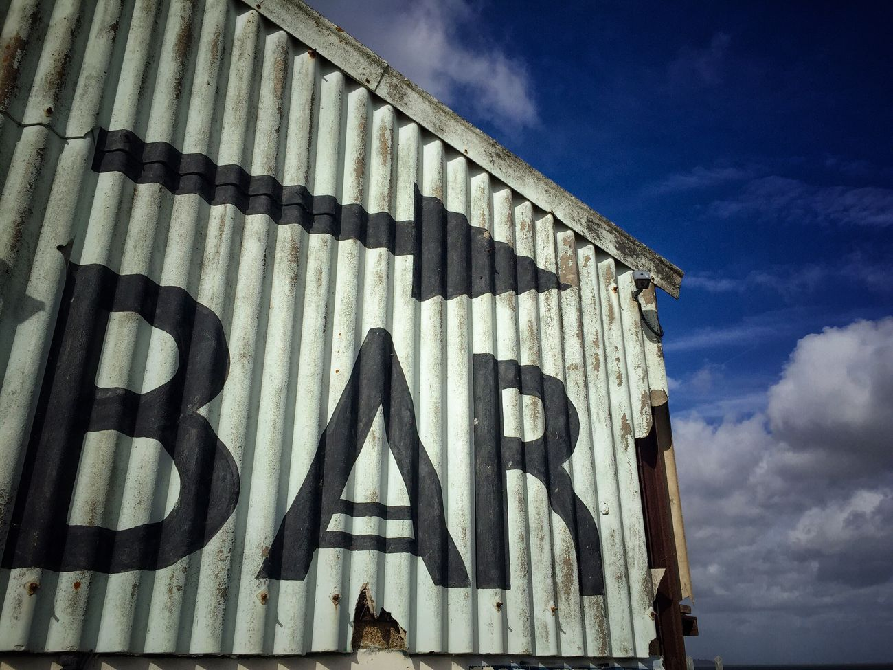 Bar Signs Signage Whitstable Bar Seaside Coast