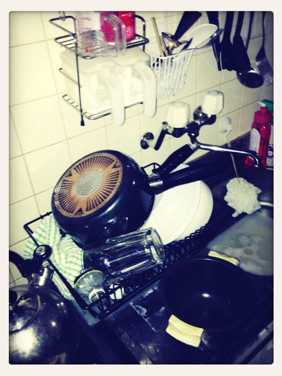 なんでもない台所の写真が好きだ
