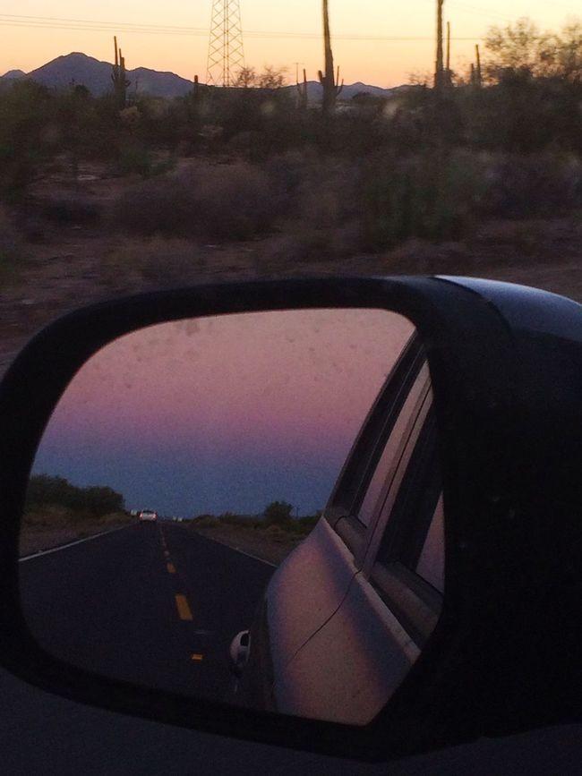 Sunset #desierto Desorbita