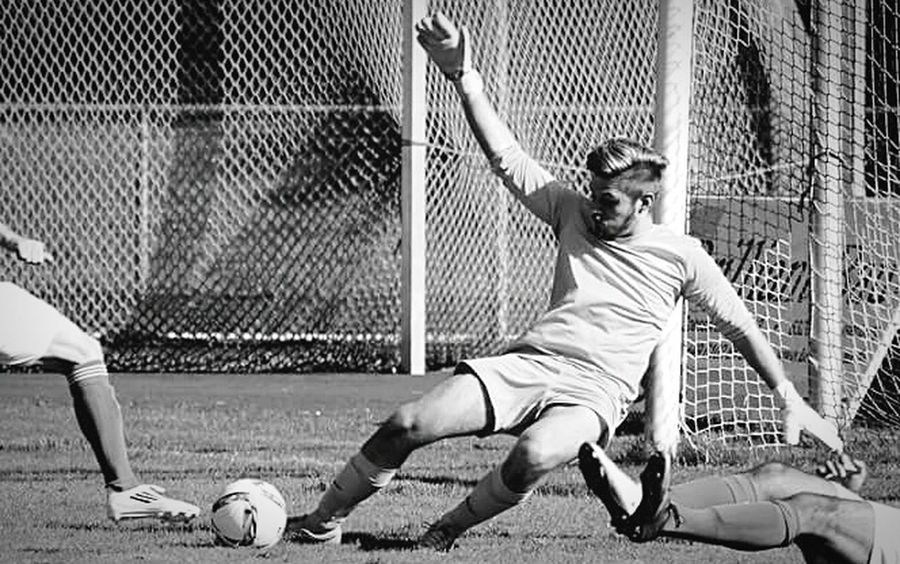 Playing Blackandwhite Soccer Keeper Football Sport Sports Sports Photography