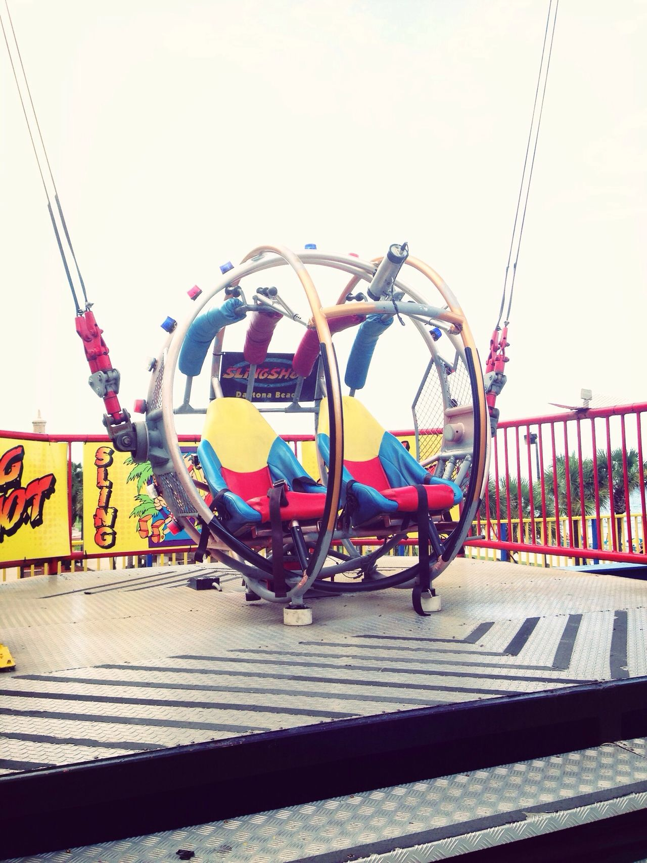 …we were catapulted up to 300 feet in the air at 100 mph! #adrenaline #SlingShot