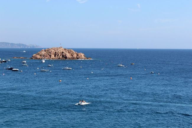 My Favorite Place Sea Water Nautical Vessel Clear Sky Horizon Over Water Bird Boat Scenics Animal Themes Mode Of Transport Tranquil Scene Blue Flying Beauty In Nature Waterfront Tossa De Mar Costa Brava Gironamenamora Girona Nature Tranquility Non-urban Scene Tourism Outdoors