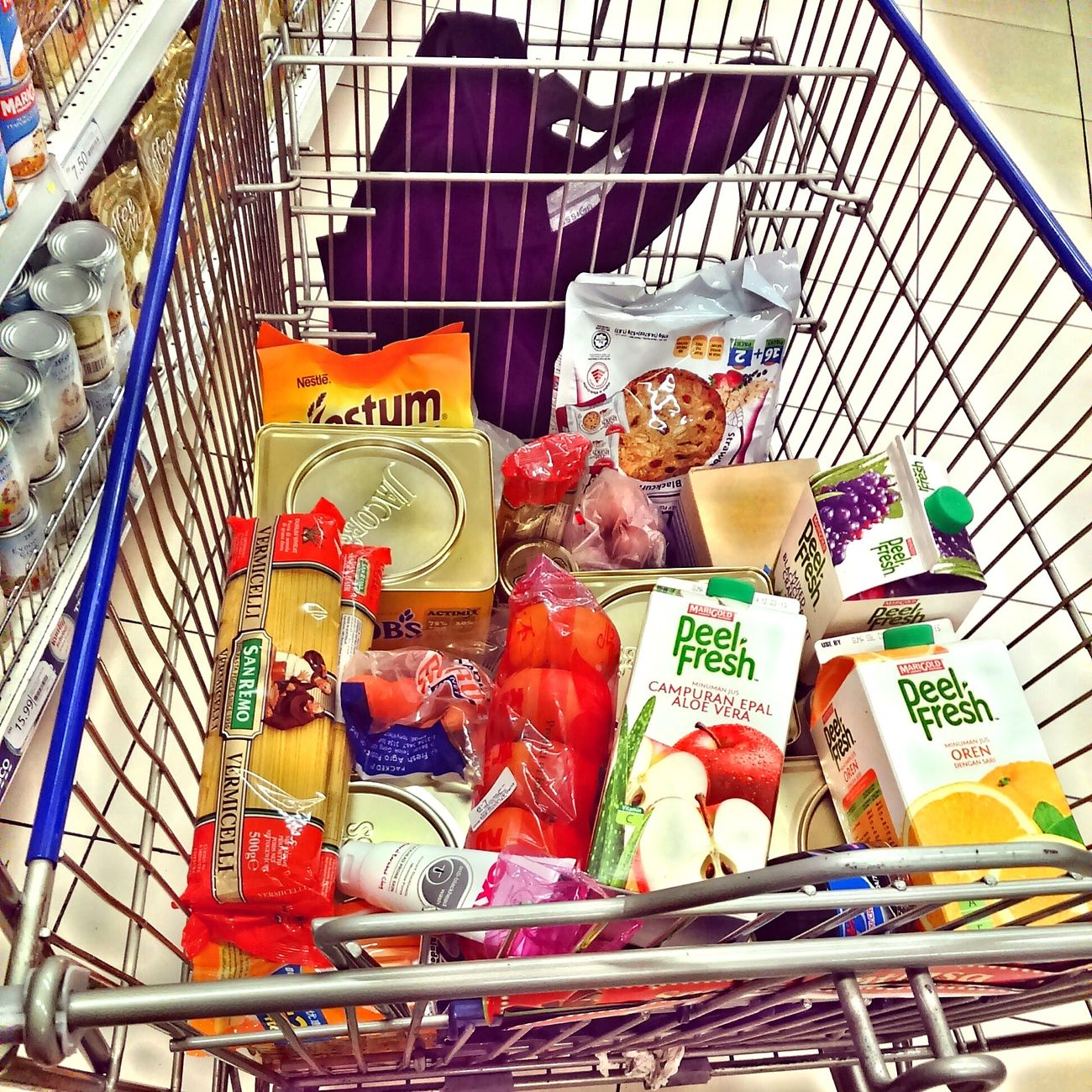 Groceryshopping Loveshopping Walking Alone...