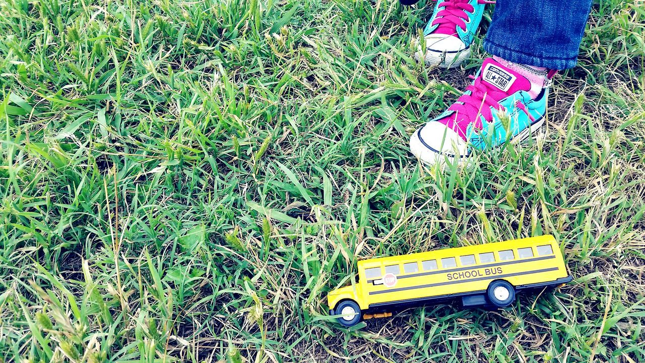 A Fieldtrip Little Girl Shoes Schoolbus Toy Playing Games Imagination Kids Imagination Colorful Shoes Converse All Star At Play Childs Play Childs Toy Showcase April Up Close Street Photography On The Way Lieblingsteil The Street Photographer - 2017 EyeEm Awards