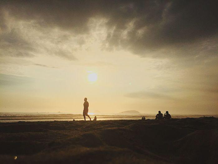 Maravilla 🙌🏻 Beach Lifestyles Sand Cloud - Sky Sunset