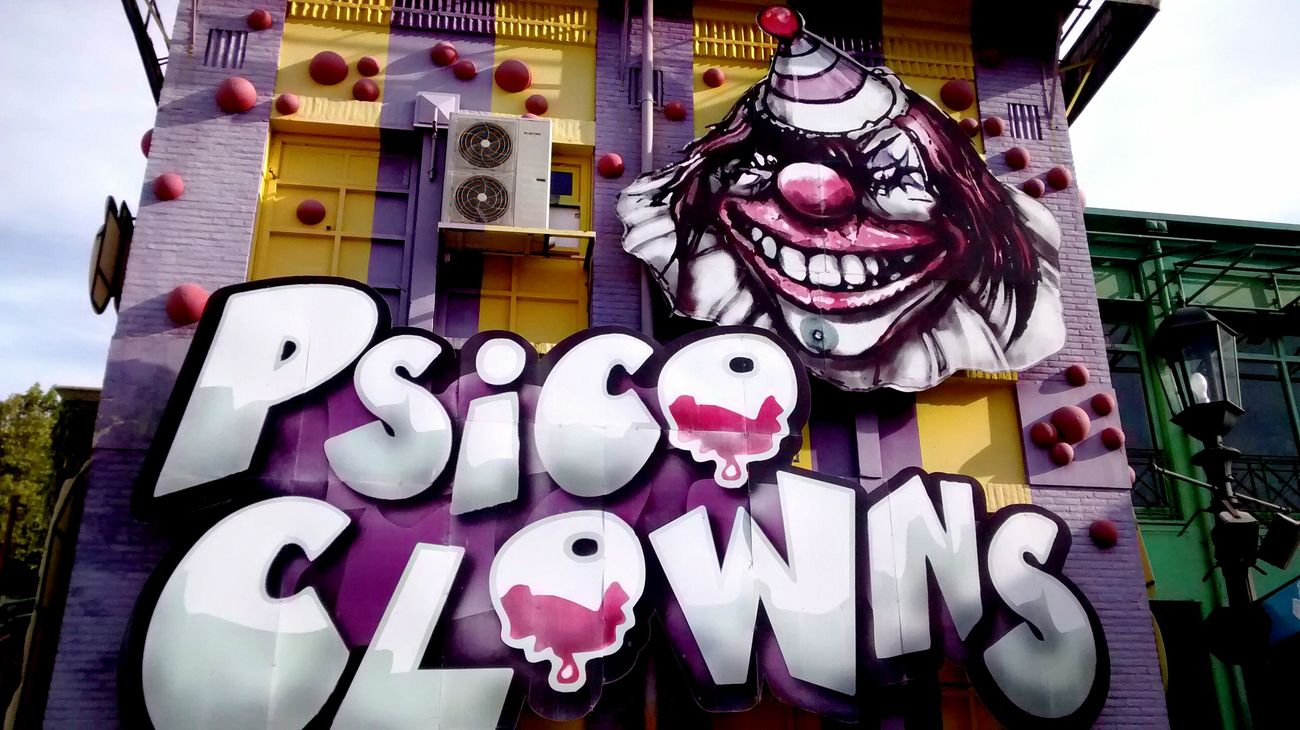 Payaso Urban Art Graffiti Buenosaires
