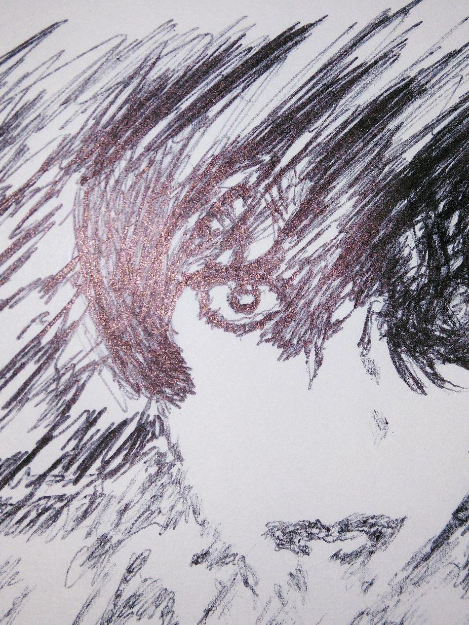 Ink Drawing Art Pen Drawing Drawing - Art Product Draw Woman Pen Eye Scribble Scribbles Faces Of EyeEm Face Implied Pen Draw Drawings My Drawing My Art Art, Drawing, Creativity ArtWork Blackandwhite Black And White Black