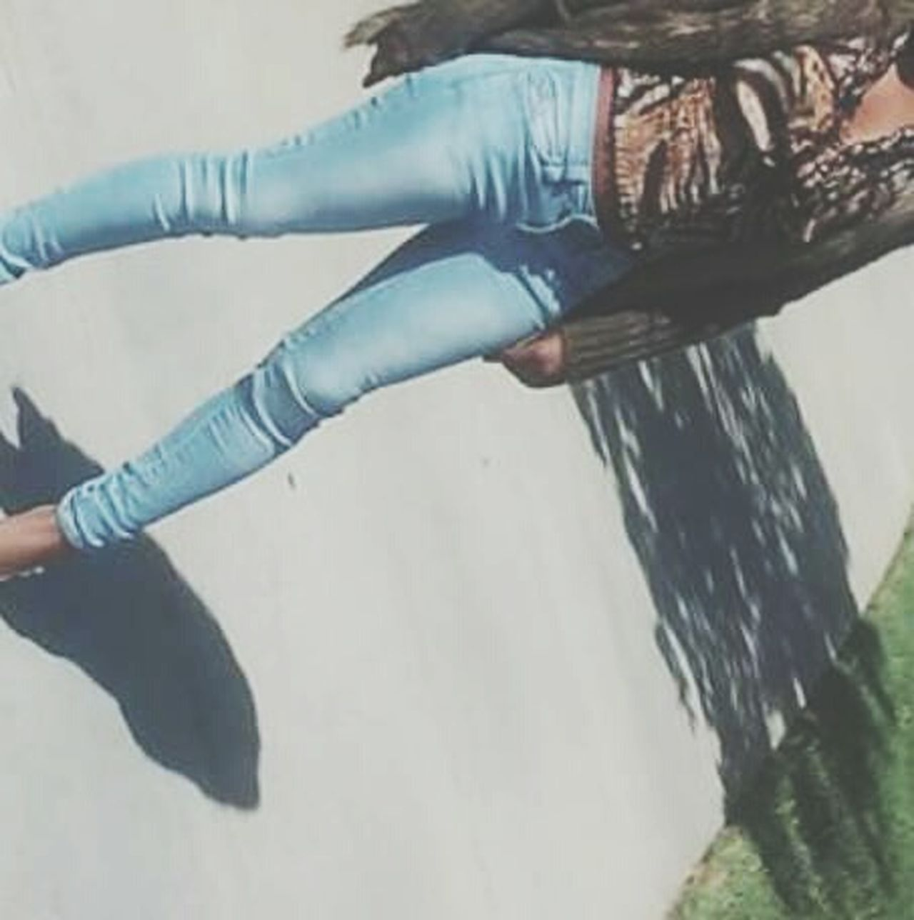 Fall fashion. One Person Full Length Walmart Vscogrid VSCO Cam Vscocam VSCO Autumn Colors Autumn🍁🍁🍁 Autumn Autumn Leaves Women Of EyeEm Adult Standing Outdoors Brown Brownskin African African Beauty Casual Clothing Young Adult Fall Season Town