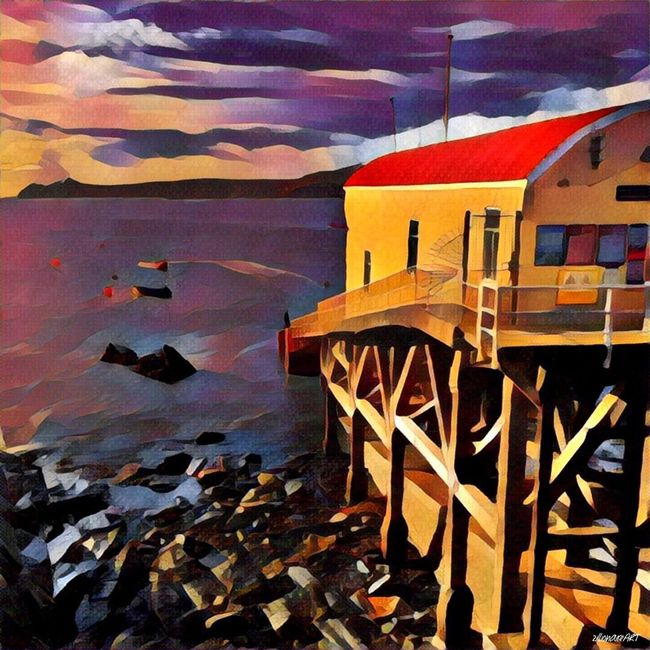 St.Justinian's Lifeboat Station ~ St.Davids Fine Art Photography Lifeboat Station... RNLI Wales Ramsey Island