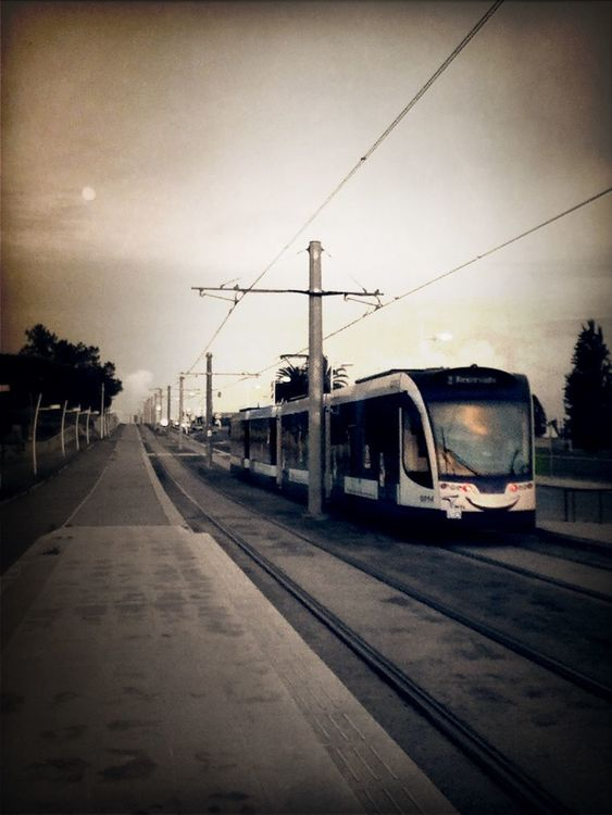 Tram at Corroios by Joker