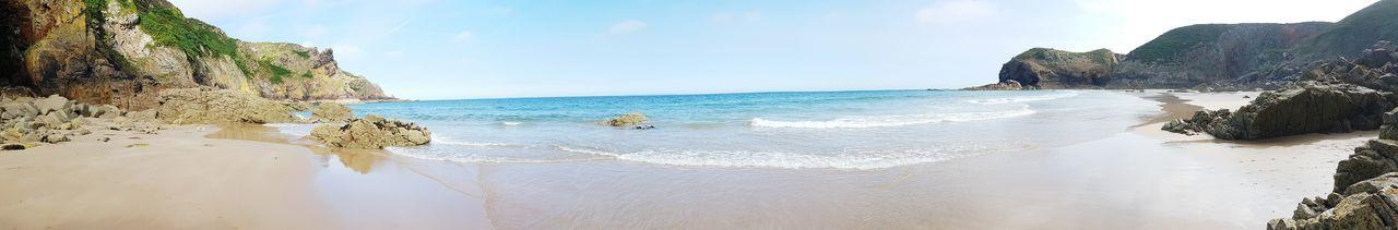 Ocean Coastline Beach Nature Water Outdoors Blue Sky Sun