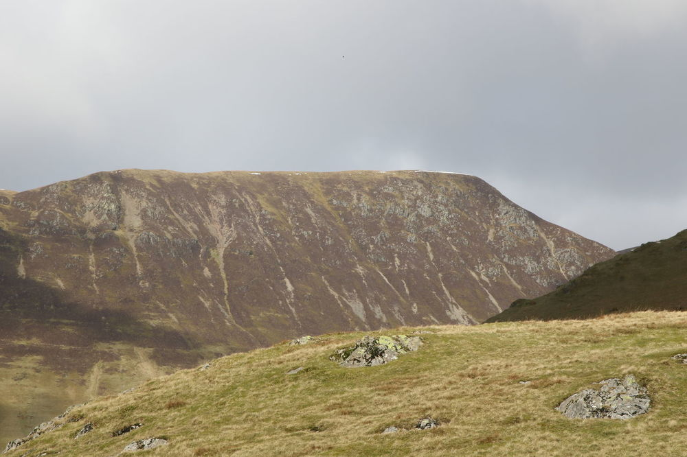 Clouds Crag Cumbria England Fells Grass Lake District Mountain Rocks Skyline Walking Walking Around