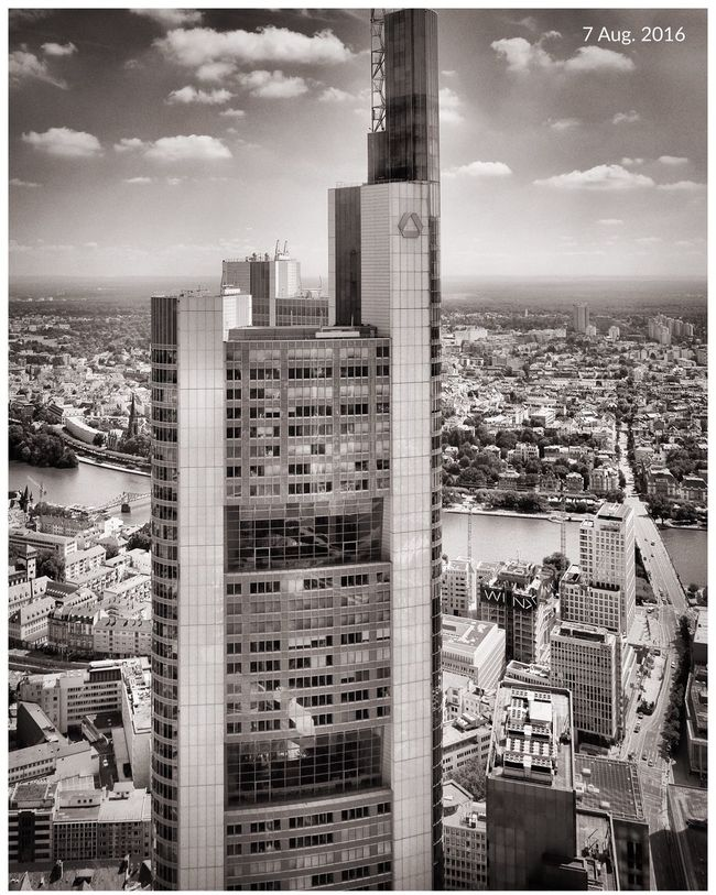 skyline frankfurt City Skyline Skyline Frankfurt Commerzbank Commerzbank Tower