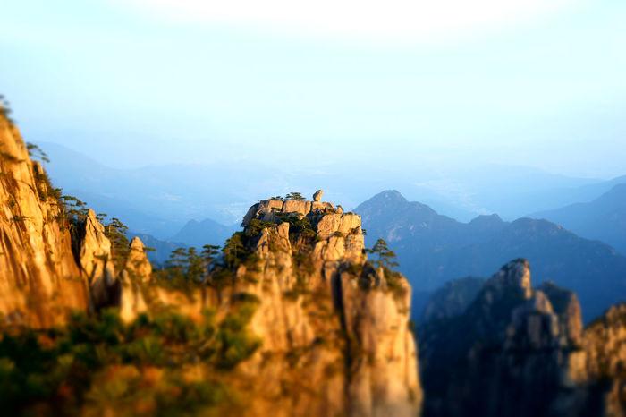 Mountains Mount Huangshan Huangshan Mountain View Mountain_collection
