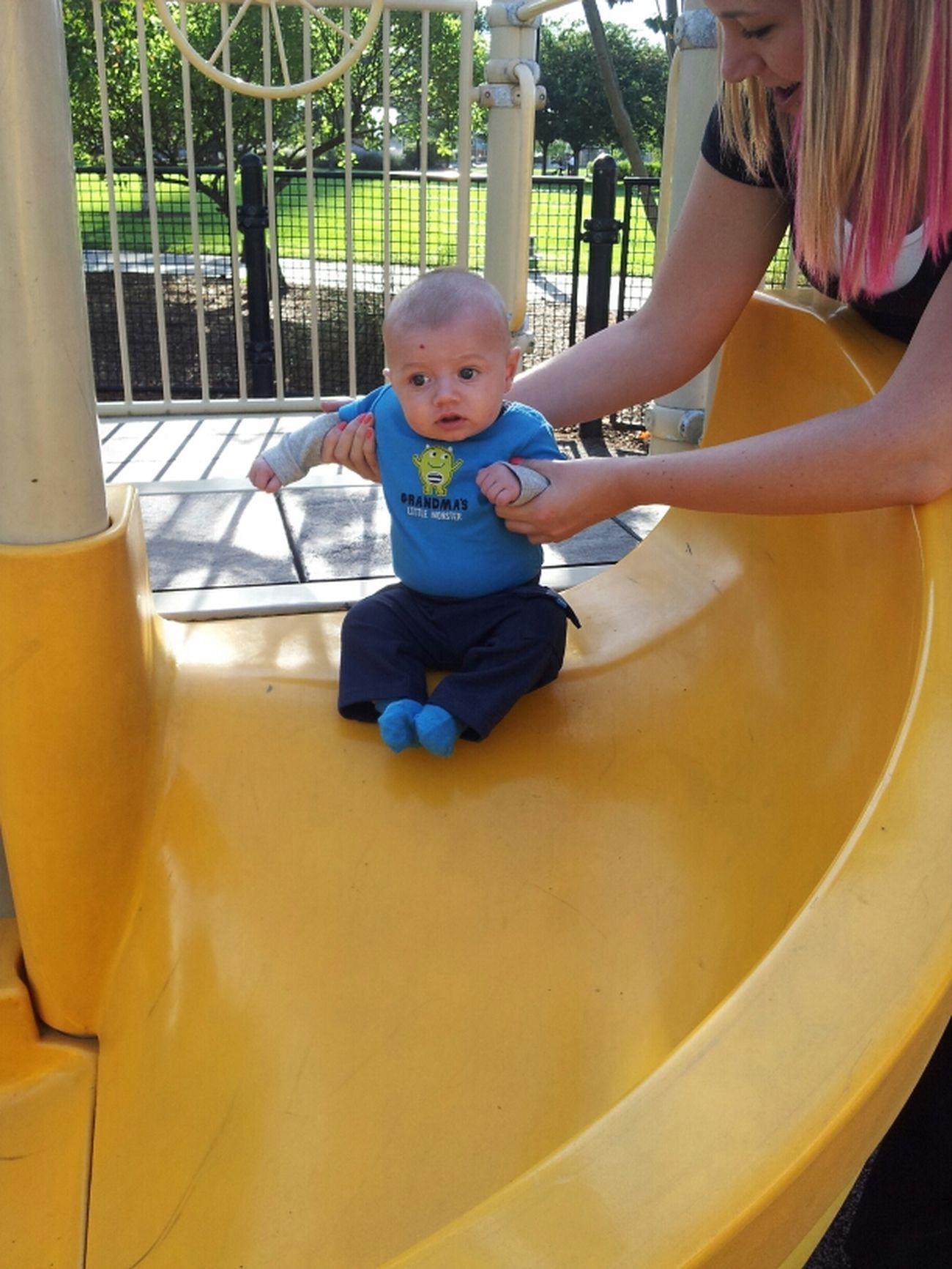 My Grandson Aiden At The Park