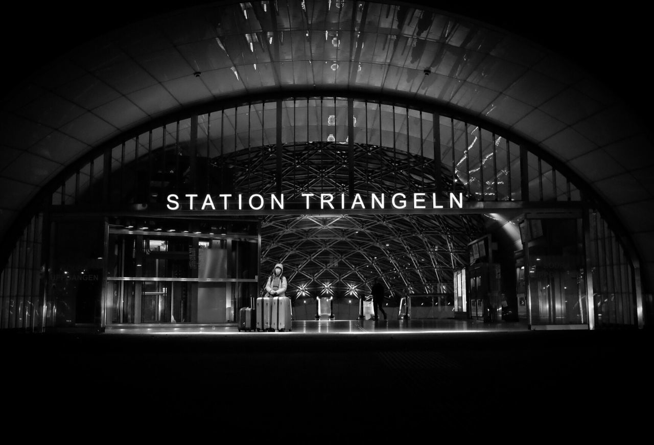 Travel Bw_collection Black And White Street Photography Night Illuminated Monochrome Malmö Shootermag